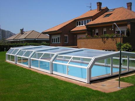 cubiertas para piscinas en a coru a galicia